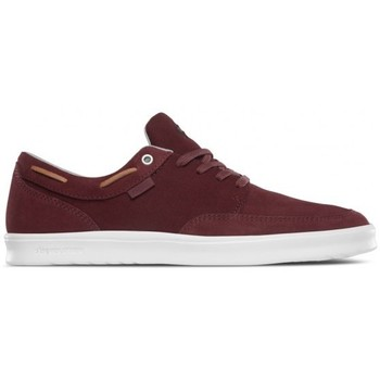 Chaussures Homme Baskets basses Etnies Chaussures  Dory Sc - Burgundy / Tan / White Rouge