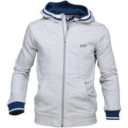 Vêtements Garçon Sweats HUGO Cardigan Hugo Boss Cadet - Ref. J25C27-A89 Gris