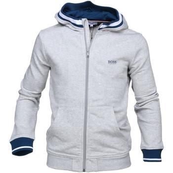 Vêtements Garçon Sweats Hugo Boss Junior Junior Cardigan Hugo Boss Cadet - Ref. J25C27-A89 Gris