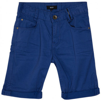 Vêtements Garçon Shorts / Bermudas HUGO Bermuda Hugo Boss Junior - Ref. J24538-861J Bleu