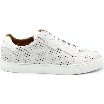 Chaussures Homme Baskets basses Schmoove BASKET SPARK CLAY BLANC