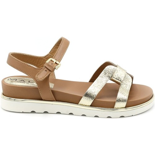 Mally SANDALE BRIDE OR TAN - Chaussures Sandale Femme