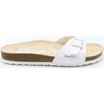 Chaussures Femme Mules Pepe jeans MULE OBAN BLANC