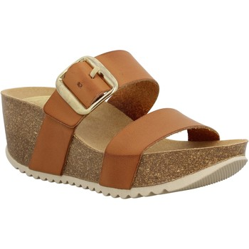 Chaussures Femme Sandales et Nu-pieds Take Me Will030 cuir Femme Tan Tan