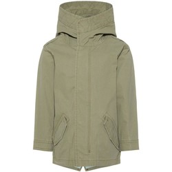 Vêtements Garçon Blousons Name It Kids NMMMARCO JACKET Vert