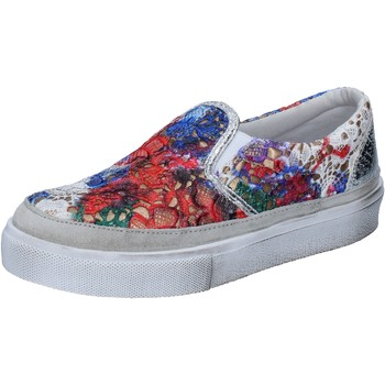 Chaussures Femme Slip ons 2 Stars slip on multicolor textile BZ526 multicolor
