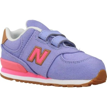 New Balance KL247T4P Chaussures de Sport Fille Red/Black 33 0xWgx9