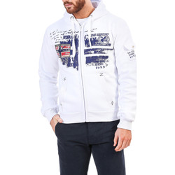 Vêtements Homme Sweats Buzzao Sweat shirt homme blanc Geographical Norway  Blanc