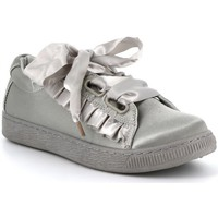 Chaussures Femme Baskets basses Cassis Côte D'azur Baskets satin WARDO Gris