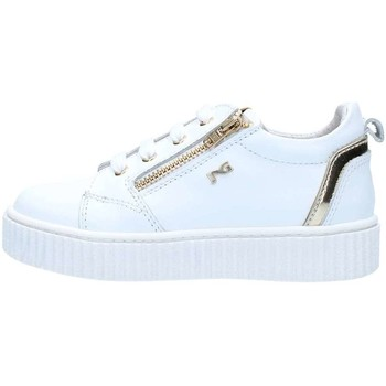 Chaussures Fille Baskets basses Nero Giardini P820142F Basket Fille White White