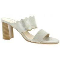 Chaussures Femme Sandales et Nu-pieds Vidi Studio Mules cuir velours  de Doré