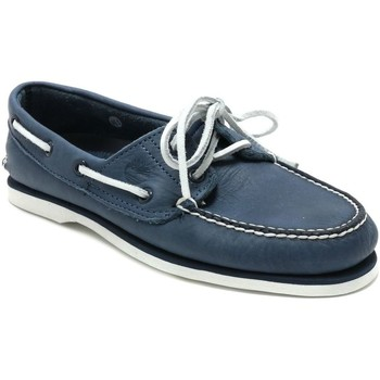 Chaussures Homme Chaussures bateau Timberland CLASSIC BOAT 2 BLEU