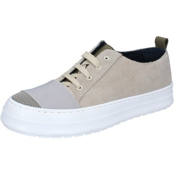 Chaussures Homme Baskets mode Fdf Shoes sneakers beige daim textile BZ379 beige