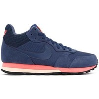 Chaussures Baskets montantes Nike MD RUNNER 2 MID bleu