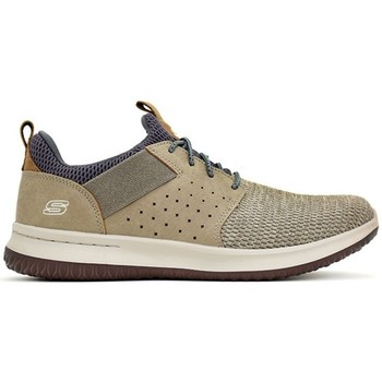 Chaussures Homme Baskets basses Skechers DELSON CAMBEN Beige