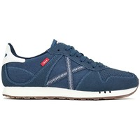 Munich Fashion 8780040 Blue - Chaussures Baskets basses Homme