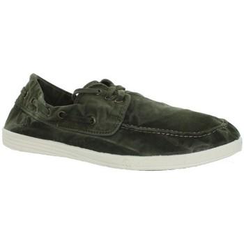 Chaussures Homme Mocassins Natural World Bateau  ref_natural43078-622 Kaki vert
