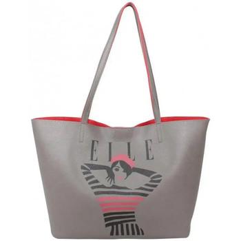 Sacs Femme Cabas / Sacs shopping Elle Sac épaule fourre-tout  Juste A Cover L5245 Taupe
