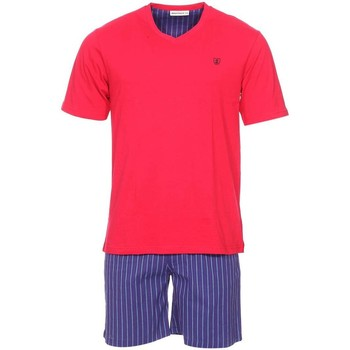 Vêtements Homme Pyjamas / Chemises de nuit Mariner - pyjama court ROUGE