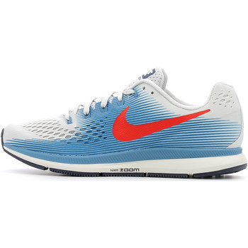 Chaussures Homme Running / trail Nike Air Zoom Pegasus 34 Vast Grey / University Red / Agean Storm