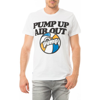 Vêtements Homme T-shirts manches courtes Reebok Sport Tee Shirt Mc Pump Up  Blanc Blanc