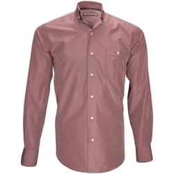 Vêtements Homme Chemises manches longues Emporio Balzani chemise sport treviso bordeaux Bordeaux