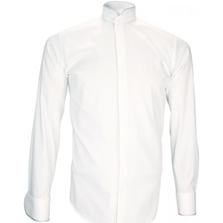 Vêtements Homme Chemises manches longues Andrew Mac Allister chemise habillee breafter blanc Blanc