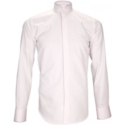 Vêtements Homme Chemises manches longues Andrew Mc Allister chemise habillee breafter rose Rose