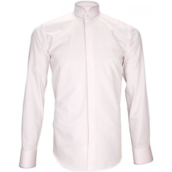 Vêtements Homme Chemises manches longues Andrew Mac Allister chemise habillee breafter rose Rose
