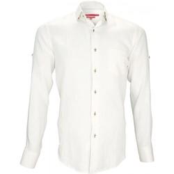 Vêtements Homme Chemises manches longues Andrew Mc Allister chemise 100% lin gao beige Beige