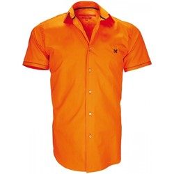 Vêtements Homme Chemises manches courtes Andrew Mc Allister chemisette mode pacific orange Orange