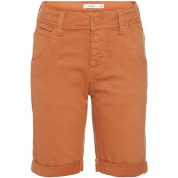 Vêtements Garçon Shorts / Bermudas Name It Kids NKMSOFUS TWIBACK LONG SHORTS AF Marron
