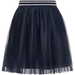 Vêtements Fille Jupes Name It Kids NKFIWTEX MESH SKIRT WL Blue