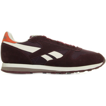 Chaussures Homme Baskets mode Reebok Sport Classic Leather Camp rouge