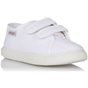 Chaussures Fille Baskets basses Vulladi 445-051 Blanco