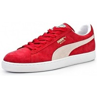 Chaussures Homme Baskets basses Puma France SUEDE Rouge