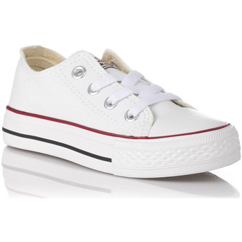 Chaussures Garçon Baskets basses Andy - Z AB4001-02 Blanco