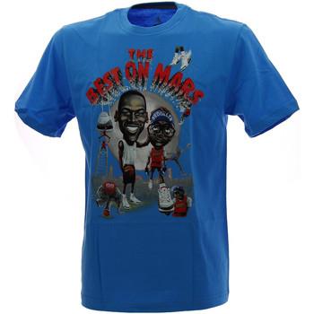 Vêtements Homme T-shirts & Polos Nike Tee-shirt  Jordan Mike and Mars Cinema - Ref. 589095-426 Bleu