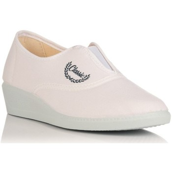 Chaussures Femme Chaussons Calsán 304 Blanco