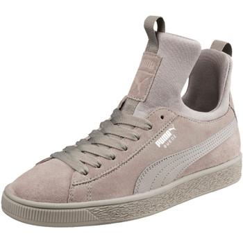 Chaussures Femme Baskets montantes Puma Suede Fierce - Ref. 366010-02 Gris