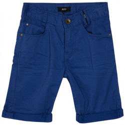 Vêtements Garçon Shorts / Bermudas HUGO Bermuda Hugo Boss Cadet - Ref. J24538-861 Bleu