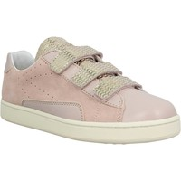Chaussures Femme Baskets basses 0-105 Stan Scratch velours Femme Rose Rose