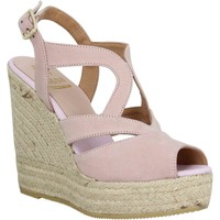 Chaussures Femme Espadrilles Kanna 4043 velours Femme Nude Nude