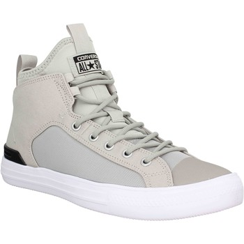 Chaussures Homme Baskets montantes Converse Chuck Taylor All Star Ultra Mid toile Homme Gris Gris
