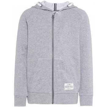 Vêtements Enfant Sweats Name It Kids Sweat Zippe Sohi Hood Grey Melange Jr - Gris