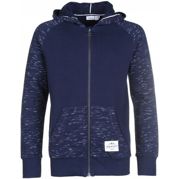 Vêtements Enfant Sweats Name It Kids Sweat Zippe Sohi Hood Dark Sapphire Jr - Bleu