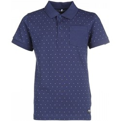 Vêtements Enfant Polos manches courtes Name It Kids Polo Kala Aop Dress Blues Jr - Bleu