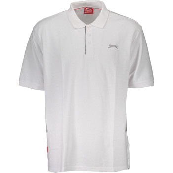 Vêtements Homme Polos manches courtes Slazenger SNR 00-4 Polo avec les manches courtes  Homme BIANCO WHITE BIANCO WHITE