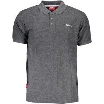 Vêtements Homme Polos manches courtes Slazenger SNR 62 Polo avec les manches courtes  Homme GRIGIO CHARCOAL MAR GRIGIO CHARCOAL MARL