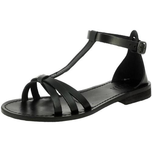 Iota 094 noir - Chaussures Sandale Femme